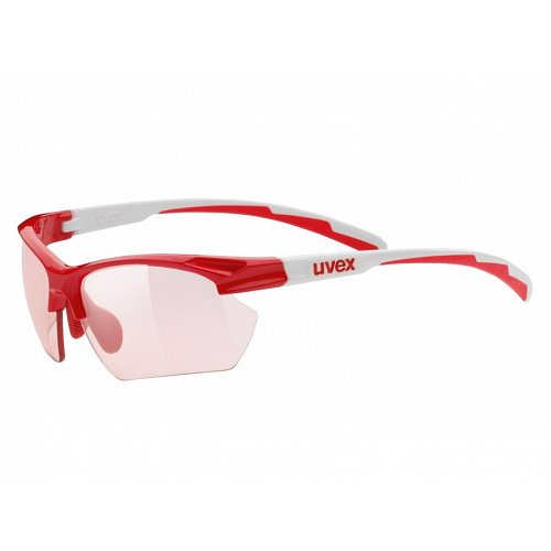 Brýle UVEX SPORTSTYLE 802 VARIOMATIC red/white