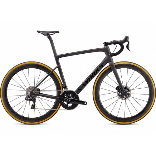Silniční kolo Specialized S-WORKS TARMAC DURA ACE Di2 2020 Satin Carbon/Tarmac Black/Clean