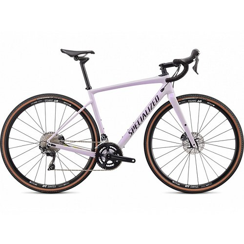 Silniční kolo Specialized DIVEREG COMP 2020 Gloss/Satin UV Lilac/Black/Hyper-Dusty Lilac Camo