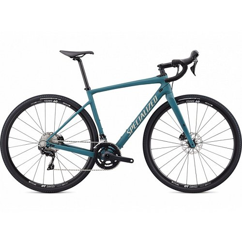Silniční kolo Specialized DIVEREG SPORT 2020 Satin Dusty Turquoise/Taupe-White Mountains/Pearl Clean