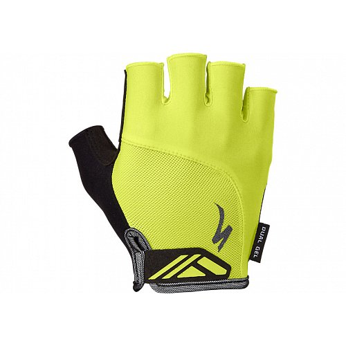 Rukavice Specialized Bg Dual Gel Sf Hyper Green