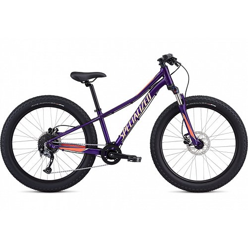 Dětské kolo Specialized RIPROCK COMP 24 2020 Gloss Plum Purple/Acid Lava/Ice Lava