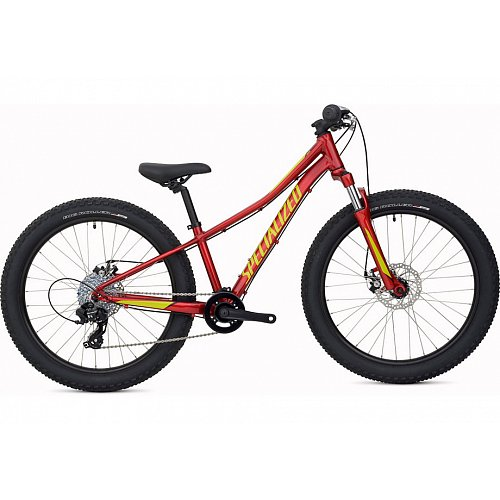 Dětské kolo Specialized RIPROCK 24 2020 Candy Red/Hyper Green/Black