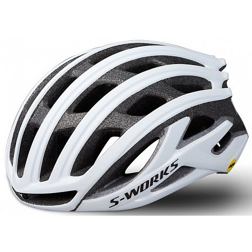 Přilba Specialized S-WORKS PREVAIL II WITH ANGI Matte White