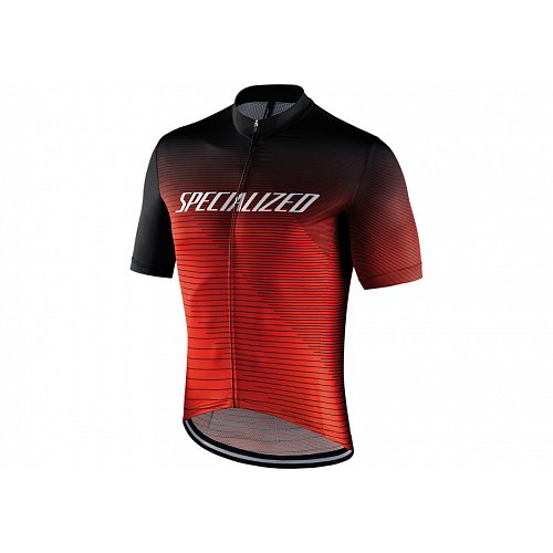 Dres Specialized RBX COMP RBX COMP LOGO TEAM SS Black/Rocket Red/Red