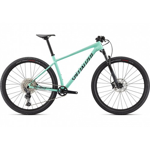 Horské kolo Specialized CHISEL 2021 gloss oasis/forest green