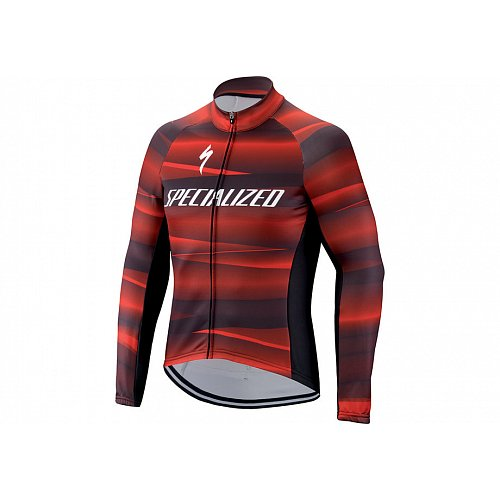 Dres SPECIALIZED  Therminal SL Team Expert LS Black/Red