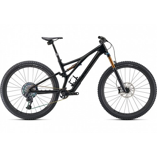 "Horské kolo Specialized S-WORKS STUMPJUMPER 29"" 2021 gloss black/carbon"