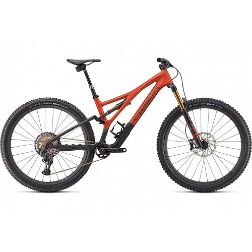 "Horské kolo Specialized S-WORKS STUMPJUMPER 29"" 2021 satin redwood/carbon"